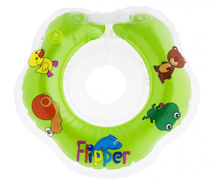 Круги для купания ROXY Flipper на шею для новорожденных круги для купания roxy flipper 0 на шею музыкальный