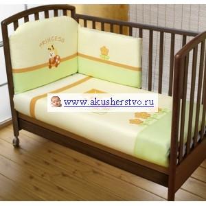 Комплект в кроватку Feretti Princess Grande Plus (8 предметов)