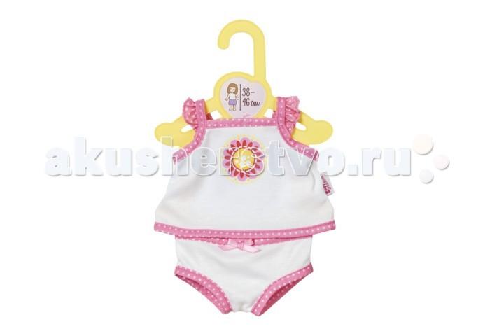 Куклы и одежда для кукол Zapf Creation Одежда для куклы Baby born Нижнее белье