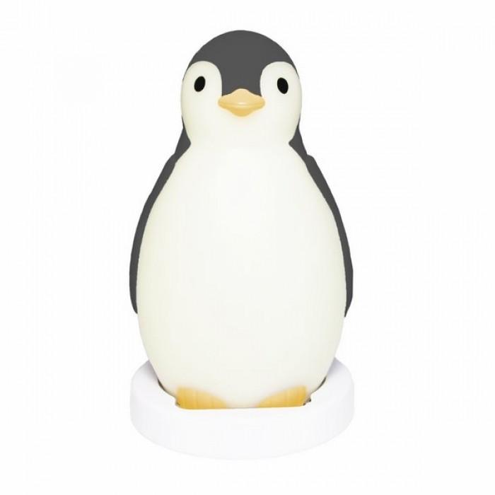 Детская мебель , Ночники Zazu Пингвинёнок Пэм 3 в 1 (Беспроводная колонка, будильник, ночник) арт: 407119 -  Ночники