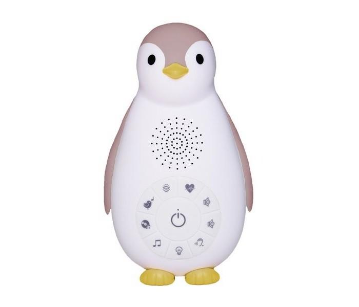 Детская мебель , Ночники Zazu Пингвинёнок Зои 3 в 1 (Беспроводная колонка, проигрыватель, ночник) арт: 407174 -  Ночники