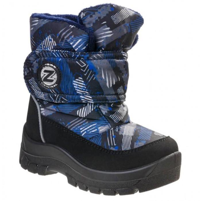 Сапоги Зебра Сапоги дошкольные утепленные для мальчика 14310-5 кроссовки для мальчика зебра цвет синий 12973 5 размер 28