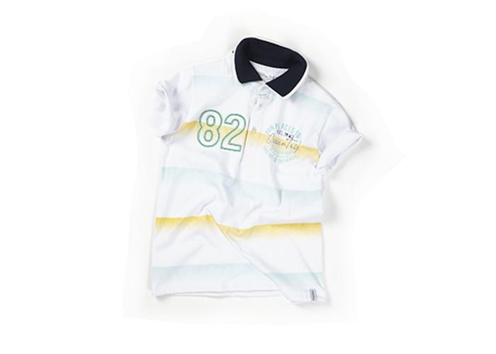 Детская одежда , Футболки и топы Zeyland Футболка-поло для мальчика 61M3NLS55 арт: 349205 -  Футболки и топы