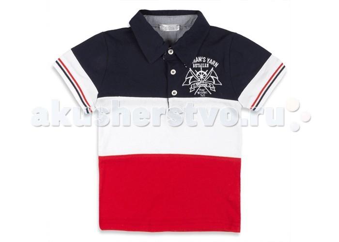 Детская одежда , Футболки и топы Zeyland Футболка-поло для мальчика 71M1MNF53 арт: 348135 -  Футболки и топы