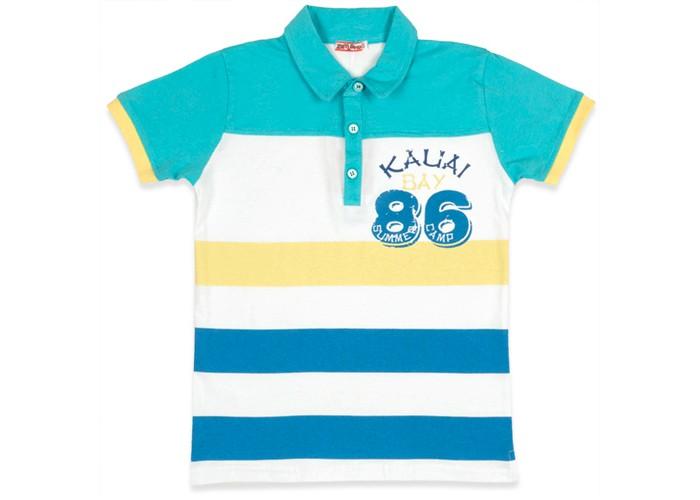 Детская одежда , Футболки и топы Zeyland Футболка-поло для мальчика 71Z3OBZ51/71Z3SPJ51 арт: 347255 -  Футболки и топы