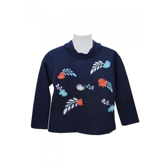 Водолазки и лонгсливы Zeyland Кофта для девочки 72M2CRT62/72M4GRT62 комплекты детской одежды zeyland комплект для девочки кофта и брюки 72m2fcr76