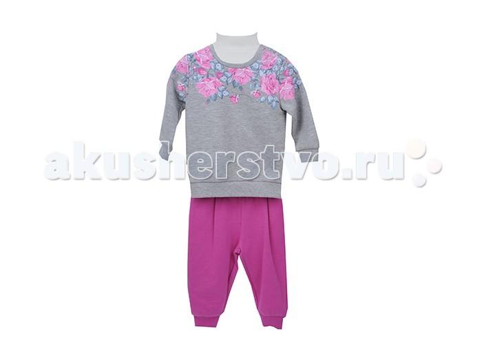 Детская одежда , Комплекты детской одежды Zeyland Комплект для девочки (кофта и брюки) 72M2JLM77 арт: 411599 -  Комплекты детской одежды