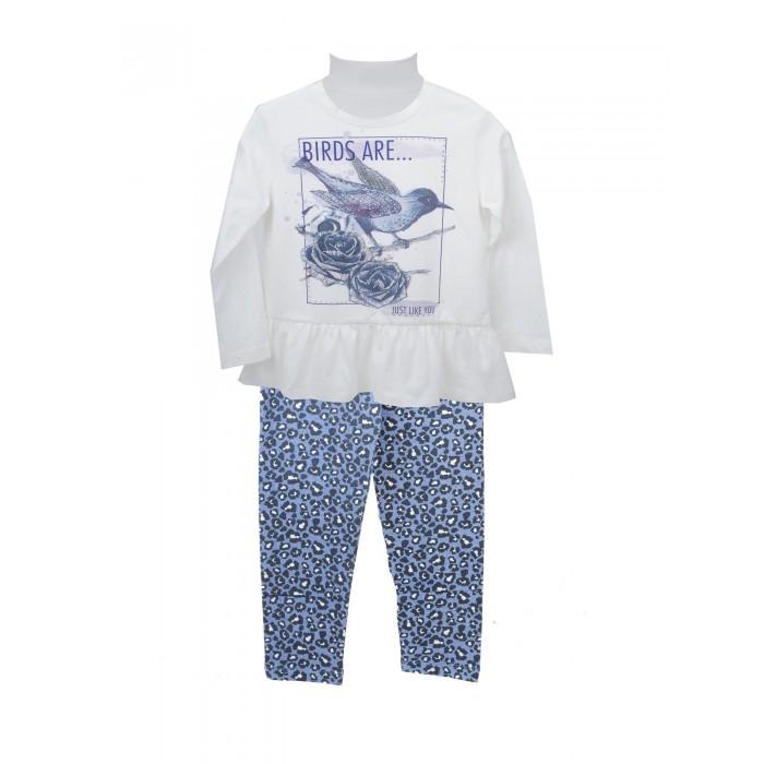 Детская одежда , Комплекты детской одежды Zeyland Комплект для девочки (кофта и брюки) 72Z4OLE76 арт: 412109 -  Комплекты детской одежды