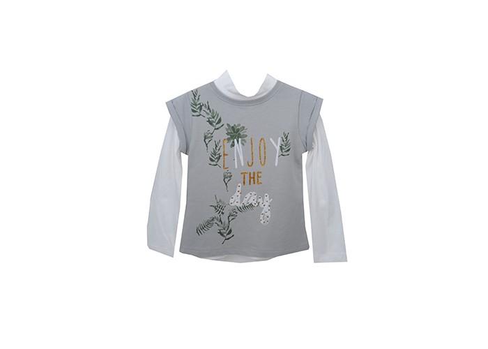 Детская одежда , Водолазки и лонгсливы Zeyland Комплект для девочки (водолазка и жилет) 72Z4EVA63 арт: 411574 -  Водолазки и лонгсливы