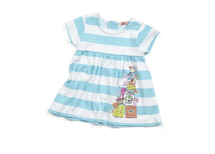 Детские платья и сарафаны Zeyland Платье для девочки 61Z2HTC38 водолазки и лонгсливы zeyland кофта для девочки 72z4tav61