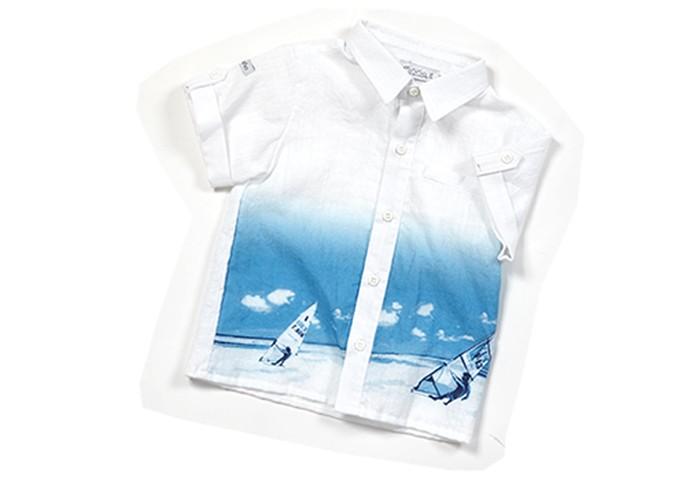 Детская одежда , Блузки и рубашки Zeyland Рубашка для мальчика 61M1MLS81/61M3NLS81 арт: 348855 -  Блузки и рубашки