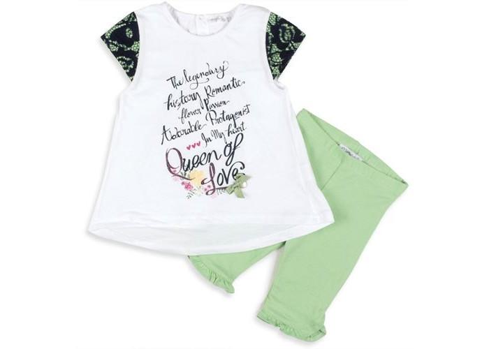 Комплекты детской одежды Zeyland Комплект для девочки (туника, лосины) 71M2YSR76 комплекты детской одежды zeyland комплект для девочки кофта и брюки 72m2fcr76