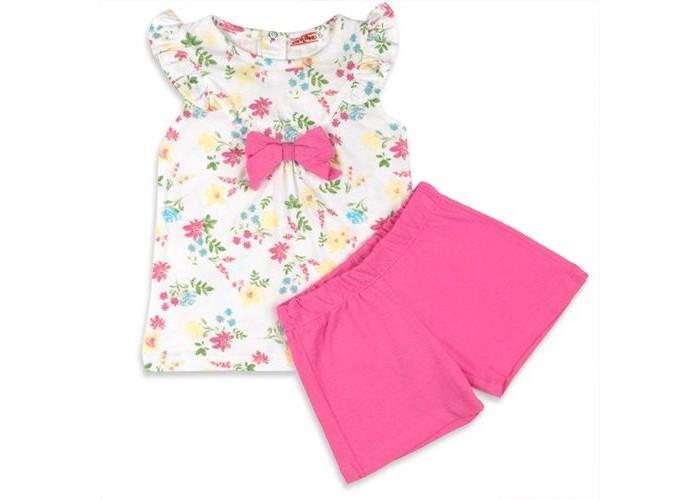 Комплекты детской одежды Zeyland Комплект для девочки (туника, шорты) 71Z2SRM76 комплекты детской одежды zeyland комплект для девочки кофта и брюки 72m2fcr76