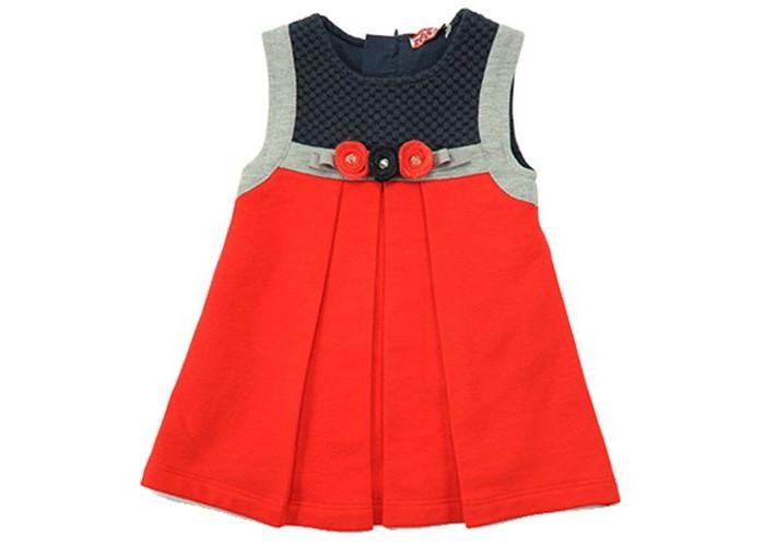 Детские платья и сарафаны Zeyland Платье для девочки 62ZFBE35 водолазки и лонгсливы zeyland кофта для девочки 72z4tav61