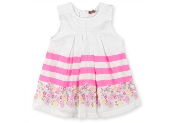 Детские платья и сарафаны Zeyland Платье для девочки 71Z2PMB32 водолазки и лонгсливы zeyland кофта для девочки 72z4tav61