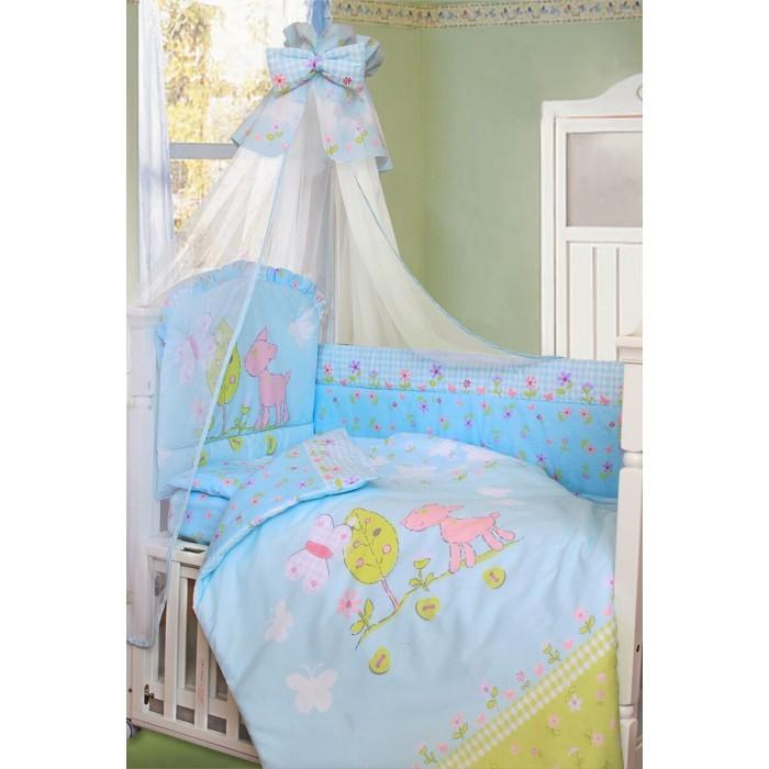 Купить Комплекты в кроватку, Комплект в кроватку Золотой Гусь Little Friend 120х60 (7 предметов)
