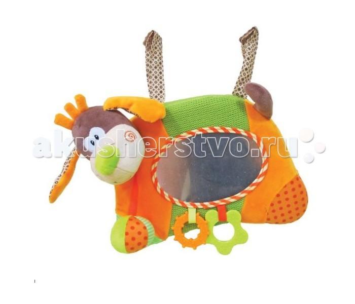Подвесная игрушка Жирафики Игровой центр на кроватку с зеркальцем и прорезывателями