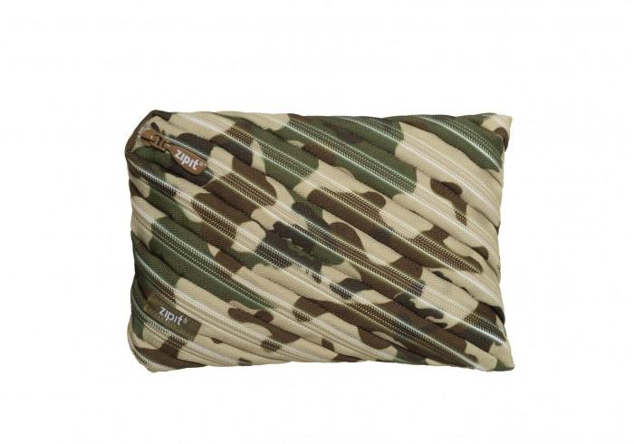 Пеналы Zipit Пенал-сумочка Camo Jumbo Pouch zipit пенал camo jumbo pouch цвет серый зеленый коричневый