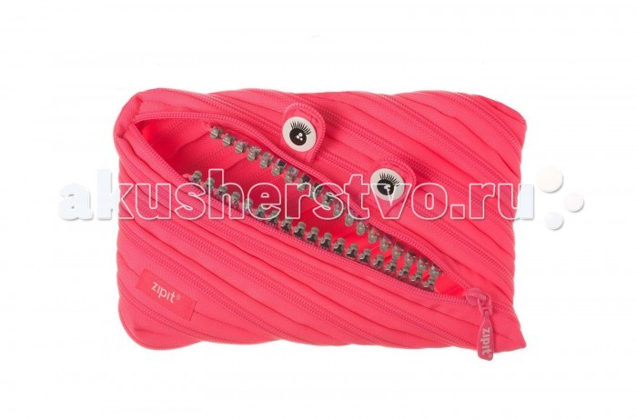 Пеналы Zipit Пенал-сумочка Grillz Jumbo Pouch zipit пенал сумочка colors jumbo pouch