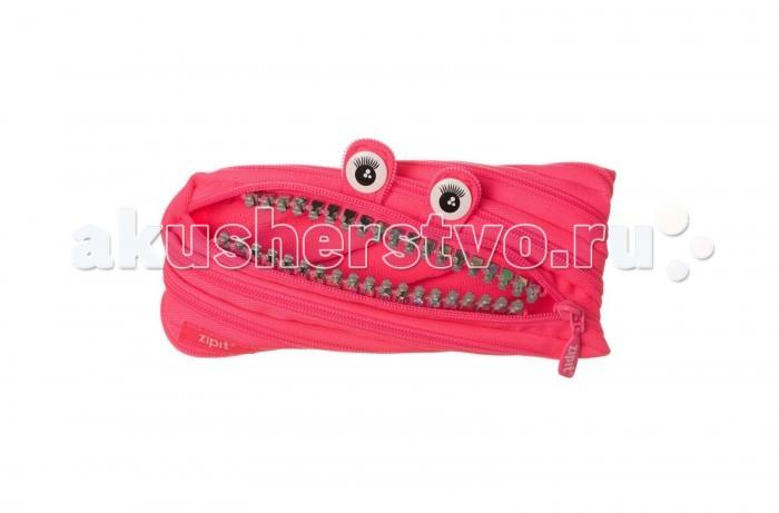 Пеналы Zipit Пенал-сумочка Grillz Pouch школьные рюкзаки zipit рюкзак grillz backracks