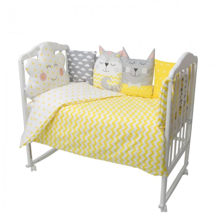 Купить Комплекты в кроватку, Комплект в кроватку Золотой Гусь Карамелька (16 предметов)