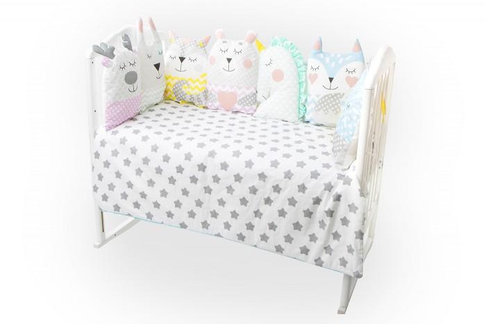 Комплекты в кроватку Золотой Гусь Лакомка (16 предметов) комплект в кроватку золотой гусь мишка царь 8 предметов розовый 1086