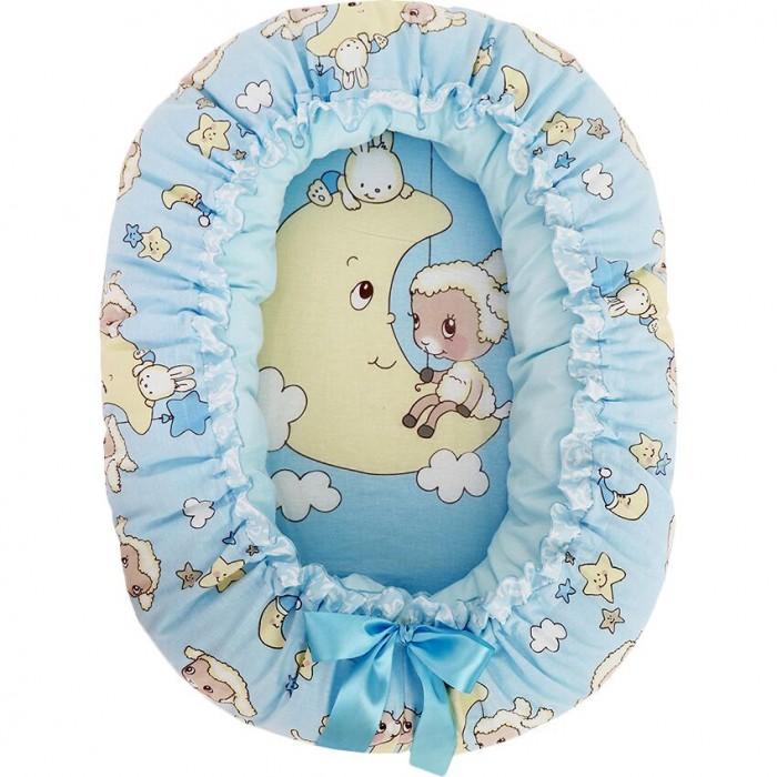 Золотой Гусь Подушка-валик трансформер гнездо Овечки на луне от Золотой Гусь