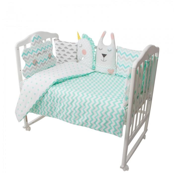 Купить Комплекты в кроватку, Комплект в кроватку Золотой Гусь Пудинг (16 предметов)