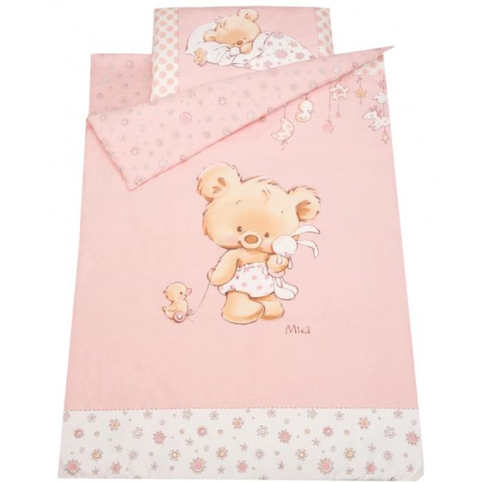 Постельное белье Золотой Гусь Mika сатин (3 предмета) комплект в кроватку золотой гусь mika сатин 7 пр розовый