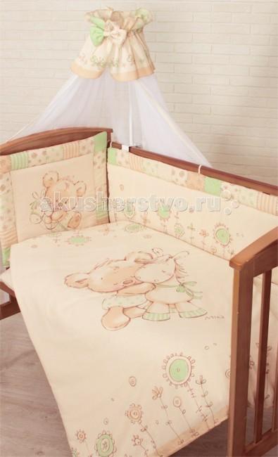 Комплект в кроватку Золотой Гусь Mika (7 предметов)