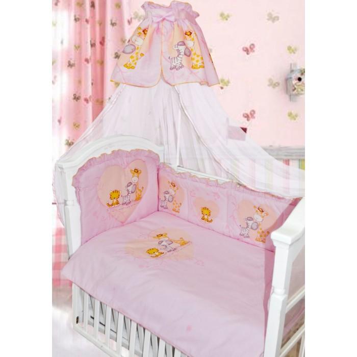 Картинка для Комплект в кроватку Золотой Гусь Сафари (7 предметов)