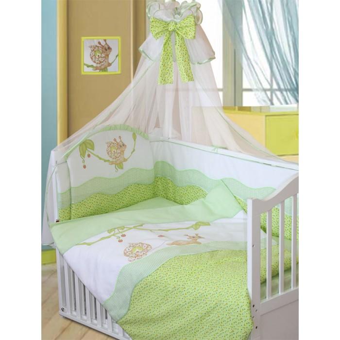 Комплекты в кроватку Золотой Гусь Улыбка (7 предметов) комплекты в кроватку ангелочки 5711 7 предметов