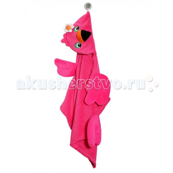 Полотенца Zoocchini Полотенце с капюшоном для детей полотенца cuddledry накидка с капюшоном для малышей горошек