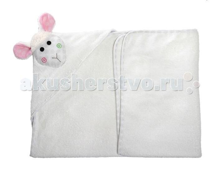 Полотенца Zoocchini Полотенце с капюшоном для малышей полотенца cuddledry накидка с капюшоном для малышей горошек