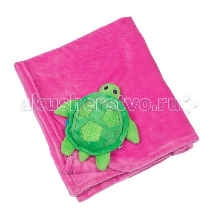 Одеяла Zoocchini С игрушкой одеяла nipperland одеяло