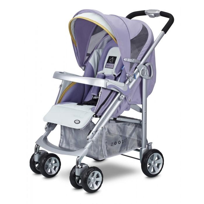 Прогулочная коляска Zooper Waltz SmartWaltz SmartПрогулочная коляска Zooper Waltz Smart - достаточно легкая и комфортная прогулочная коляска с практически горизонтальным положением спинки. Сиденье очень широкое, имеет вкладыш для совсем маленьких деток и специальную молнию, которая позволяет сделать люльку, чтобы младенец не ускользнул.  Легкая, очень маневренная. Коляска просто складывается, есть ручка для переноски, сама стоит в сложенном положении и занимает мало места.  Особенности: новый улучшенный большой капюшон теперь по всех колясках Zooper. Новый дизайн универсального капюшона Zooper сочетает в себе: UV-сетку, дождевик и козырек от солнца в одном блоке. Теперь, капюшон имеет всё необходимое, чтобы оградить вашего ребенка от дождя, солнечного света и ультрафиолетовых лучей, избавляя вас от неприятностей теплая муфта для ног защищает вашего малыша от ветра и дождя и держит в тепле ножки малыша в любую погоду. Когда становится совсем холодно, вам не о чем беспокоиться, ребенок как будто укутан одеялом и риск простудиться сводиться к минимуму не имеет значения какая погода на улице, ваш малыш будет полностью защищен от внешнего воздействия подголовник, специально спроектированный для новорожденных, сделан из мягкого и комфортного материала, чтобы вашему ребенку удобно было спать новорожденный у вас или постарше, пятиточечные ремни безопасности обеспечат максимальный комфорт и исключают возможность зажима трехпозиционная регулируемая подставка для ножек позволяет находится в лежачем и сидячем положениях столик для коляски - незаменим для малышей, любящих подкрепиться по дороге детально продуманный дизайн обеспечивает ребенку максимальную защиту. Бортики в коляске предотвратят падение малыша четыре независимых аммортизатора на каждом колесе это стандарт, он есть во всех колясках Zooper удобный карман на внешней стороне капюшона позволит взять с собой на прогулку все необходимое, при этом облегчит и маме жизнь большая корзина поможет освободить руки и сложить все