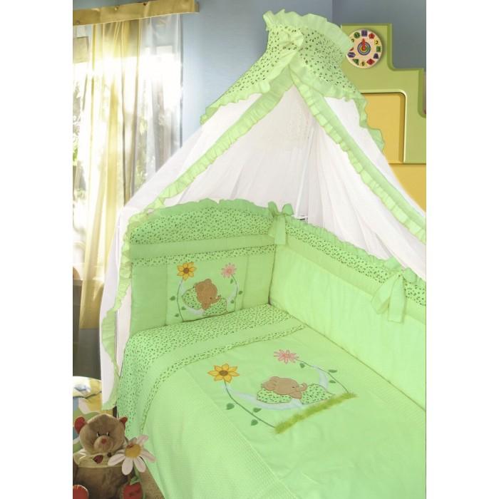 Комплекты в кроватку Золотой Гусь Сладкий сон (7 предметов) комплект в кроватку золотой гусь ежик топа топ 8 предметов розовый 1286