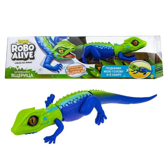 Интерактивная игрушка Zuru Робо ящерица RoboAlive