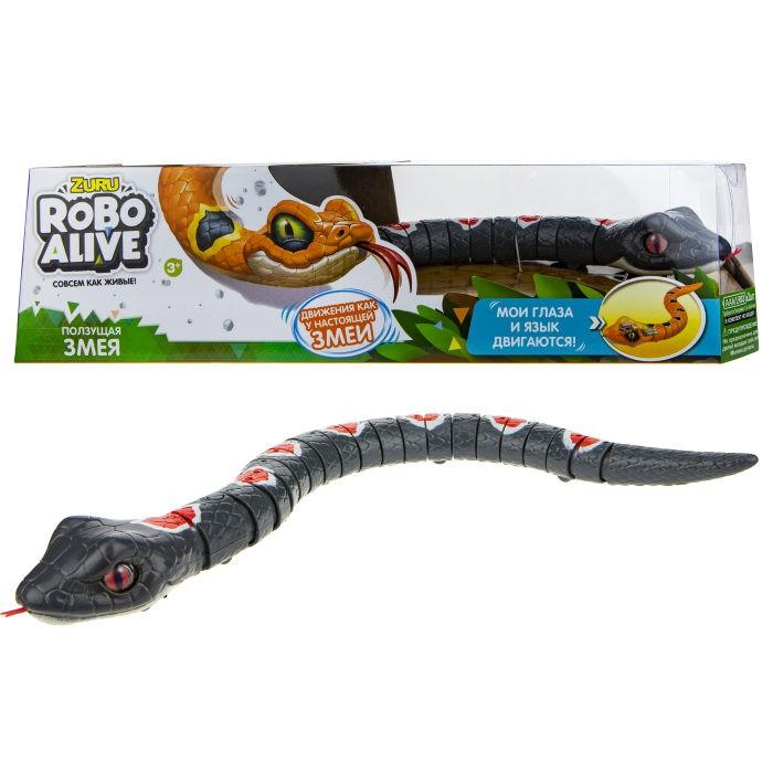 Интерактивная игрушка Zuru Робо змея RoboAlive