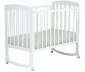 Детская кроватка Кубаньлесстрой АБ 16.0 Ромашка качалка без ящика