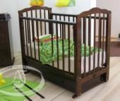 Детская кроватка Можга (Красная Звезда) Элина С-669 маятник поперечный