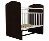 Детская кроватка Агат Золушка 10 без ящика (поперечный маятник)