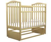 Детская кроватка Агат Золушка-5 маятник продольный