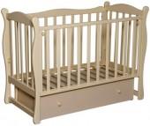 Детская кроватка Антел Северянка 2 маятник поперечный