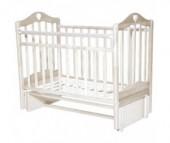 Детская кроватка Антел Каролина 5 маятник продольный