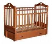 Детская кроватка Антел Каролина 6 маятник продольный