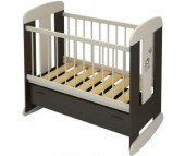 Детская кроватка Бэби Бум Зайка качалка
