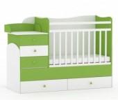 Кроватка-трансформер Фея 1400