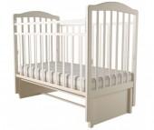 Детская кроватка Forest Malva маятник продольный (без ящика)