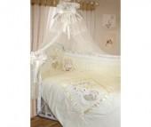 Комплект в кроватку Золотой Гусь Рафаэлло 140х70 (10 предметов)